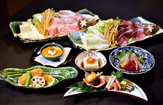 1月のディナー懐石・コース